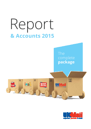 UK Mail Group Plc annual report 2015