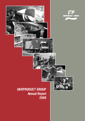 Ukrproduct Group annual report 2009