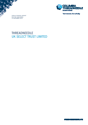 Threadneedle UK Select Trust annual report 2015