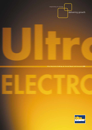 Ultra Electronics Holdings annual report 2005