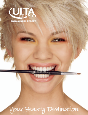 ULTA Salon, Cosmetics & Fragrance, Inc. annual report 2010