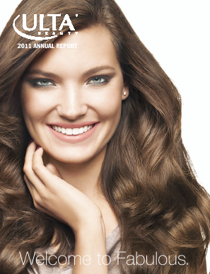 ULTA Salon, Cosmetics & Fragrance, Inc. annual report 2011