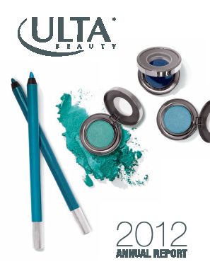 ULTA Salon, Cosmetics & Fragrance, Inc. annual report 2012