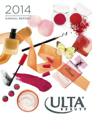 ULTA Salon, Cosmetics & Fragrance, Inc. annual report 2014