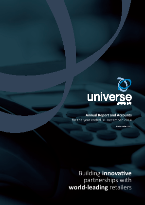 Universe Group annual report 2014