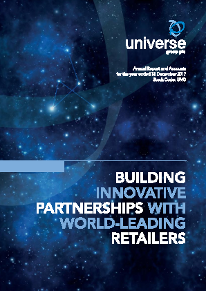 Universe Group annual report 2017