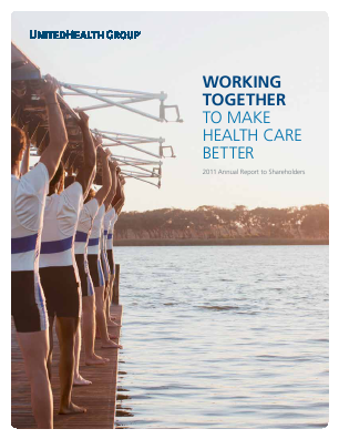 UnitedHealth Group annual report 2011
