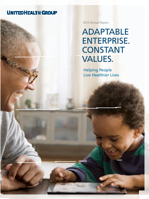 UnitedHealth Group annual report 2012