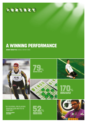 Unibet Group annual report 2008