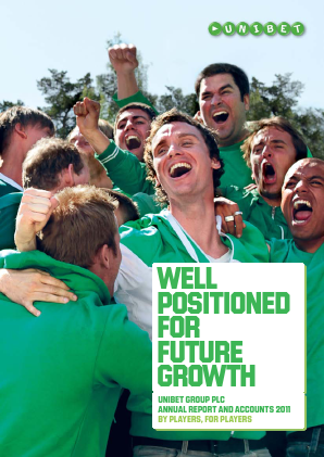 Unibet Group annual report 2011