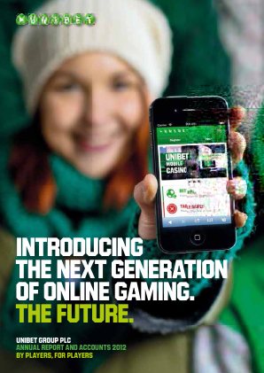 Unibet Group annual report 2012