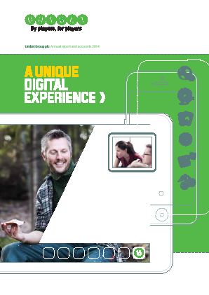 Unibet Group annual report 2014
