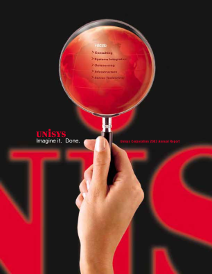 Unisys Corp annual report 2003