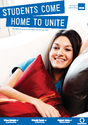 Unite Group annual report 2005