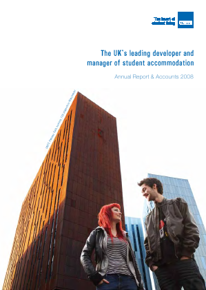 Unite Group annual report 2008