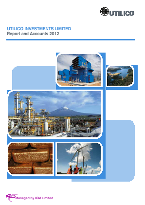 UIL Limited (previously Utilico Investments ) annual report 2012