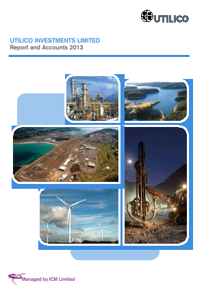 UIL Limited (previously Utilico Investments ) annual report 2013