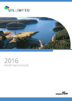 UIL Limited (previously Utilico Investments ) annual report 2016