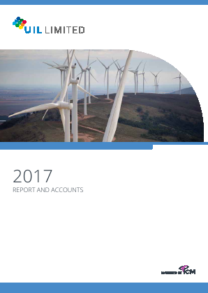 UIL Limited (previously Utilico Investments ) annual report 2017
