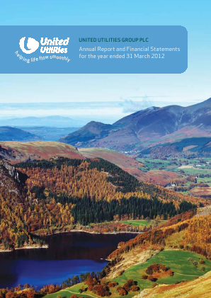 United Utilities Group Plc annual report 2012