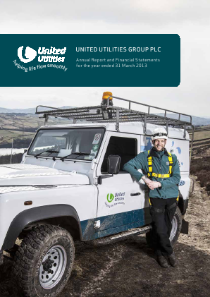 United Utilities Group Plc annual report 2013