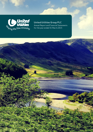United Utilities Group Plc annual report 2015