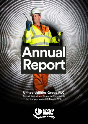 United Utilities Group Plc annual report 2016