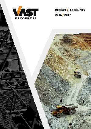 Vast Resources Plc annual report 2017