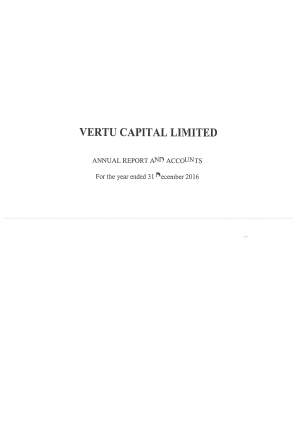 Vertu Capital annual report 2016