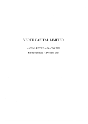 Vertu Capital annual report 2017