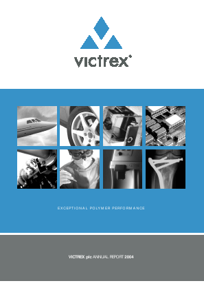Victrex annual report 2004