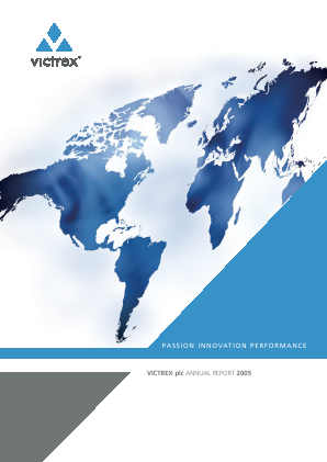 Victrex annual report 2005