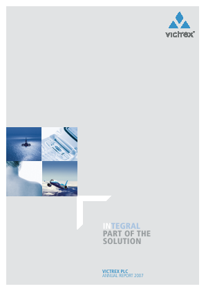 Victrex annual report 2007