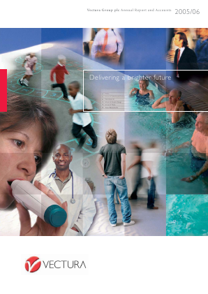 Vectura Group annual report 2006