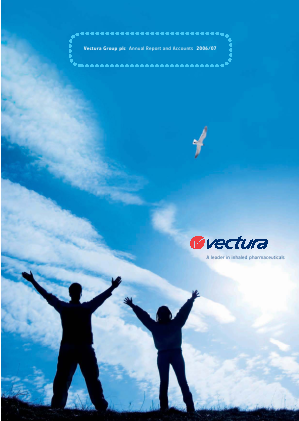 Vectura Group annual report 2007