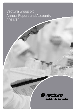 Vectura Group annual report 2012