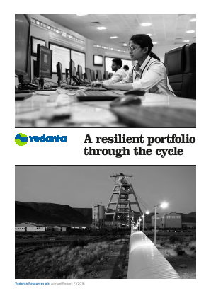 Vedanta Resources annual report 2016