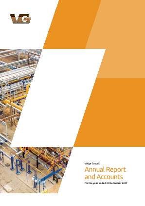 Volga Gas Plc annual report 2017