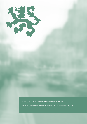 Value & Income Trust annual report 2016