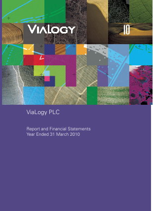 Vialogy annual report 2010