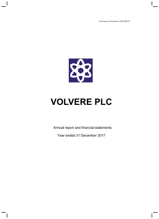 Volvere annual report 2017