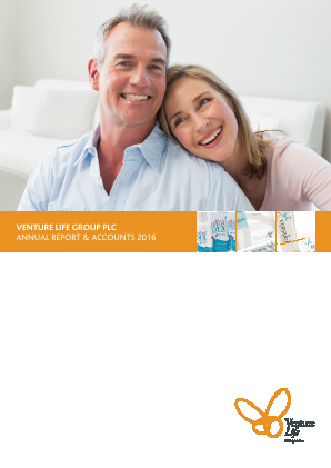 Venture Life Group Plc annual report 2016