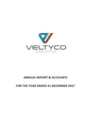 Veltyco Group (previously Velox3) annual report 2017