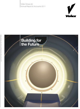 Volex Plc annual report 2011