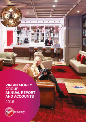 Virgin Money Holdings (UK) Plc annual report 2016