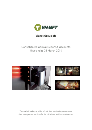 Vianet Group Plc annual report 2014