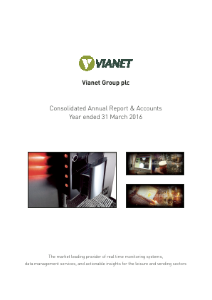 Vianet Group Plc annual report 2016