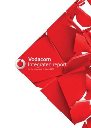 Vodacom Group annual report 2016