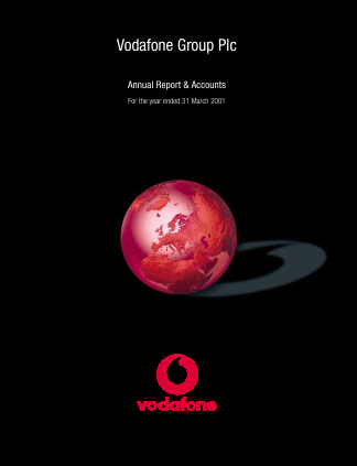 Vodafone Group annual report 2001