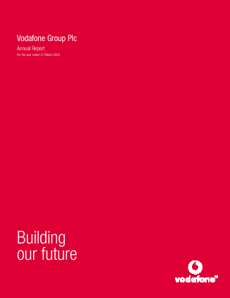 Vodafone Group annual report 2005